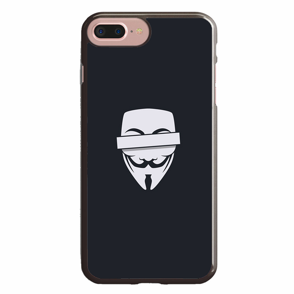 Anonymous Cencored Eye Mask Ilyst Minimal iPhone 7 Plus Case | Republicase
