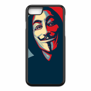 Anonymous Mask Style iPhone 7 Case | Republicase
