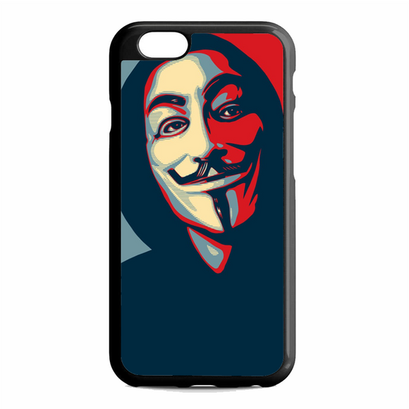 Anonymous Mask Style iPhone 6 / 6S Case | Republicase