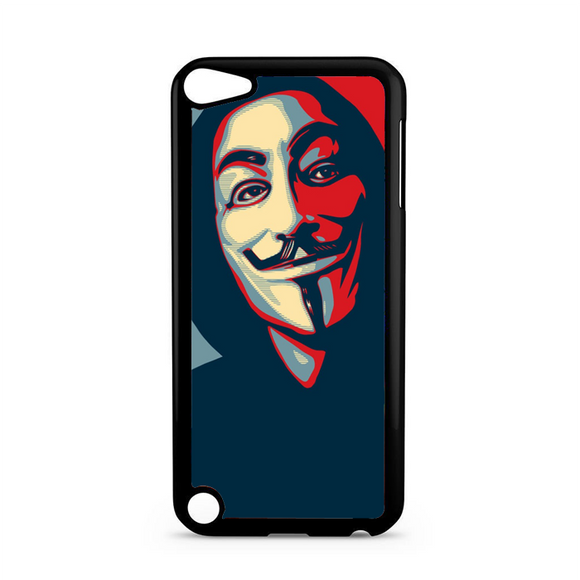 Anonymous Mask Style iPod 5 Case | Republicase