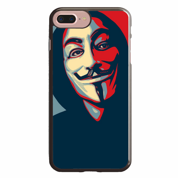 Anonymous Mask Style iPhone 7 Plus Case | Republicase