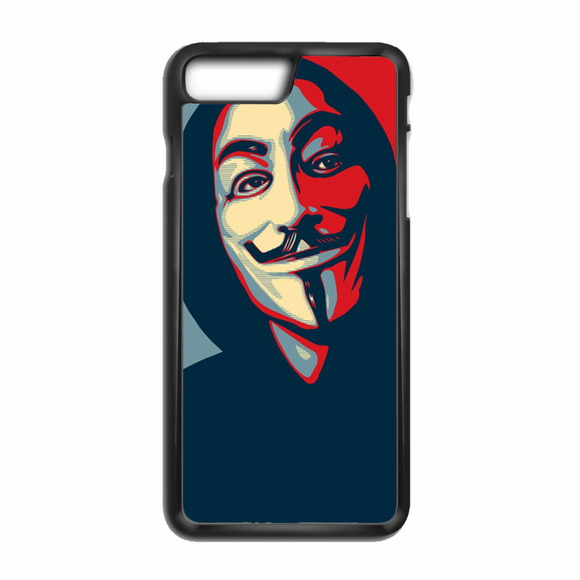 Anonymous Mask Style iPhone 8 Plus Case | Republicase