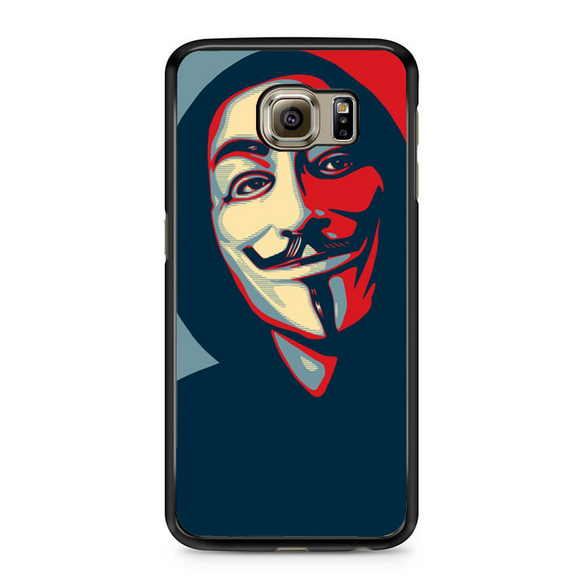Anonymous Mask Style Samsung Galaxy S6 Edge Plus Case | Republicase