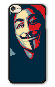 Anonymous Mask Style iPod 6 | Republicase