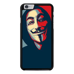 Anonymous Mask Style iPhone 6 Plus / 6S Plus Case | Republicase