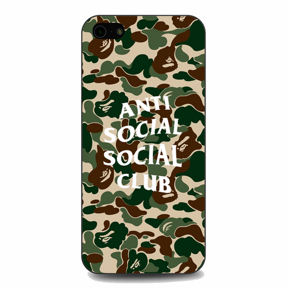Anti Social Social Club iPhone 5 / 5S / 5E Case | Republicase