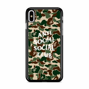 Anti Social Social Club iPhone X Case | Republicase