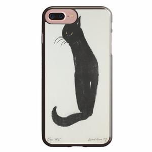 black cat holding on iPhone 7 Plus Case | Republicase