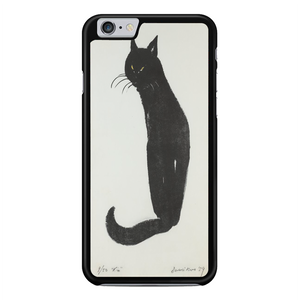 Black Cat Holding On iPhone 6 Plus / 6S Plus Case | Republicase