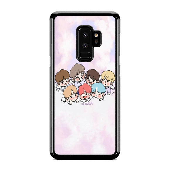 various colors 083b5 9e2df BTS Fanart Samsung Galaxy S9 Case | Republicase