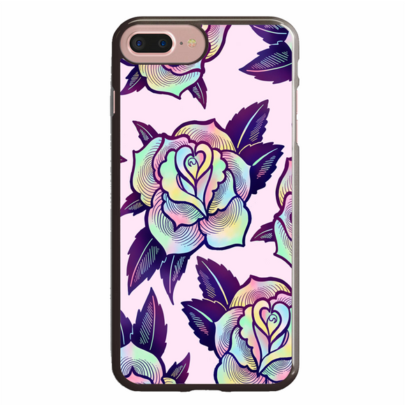Colorful Psychedelic Rose iPhone 7 Plus Case | Republicase