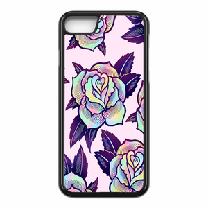 Colorful Psychedelic Rose iPhone 7 Case | Republicase