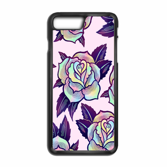 Colorful Psychedelic Rose iPhone 8 Case | Republicase