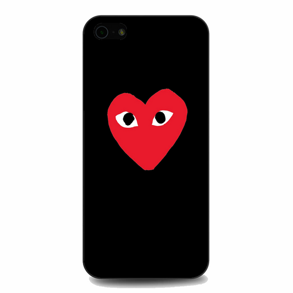 Comme des Garcons Red Heart iPhone 5/5S/SE Case | Republicase
