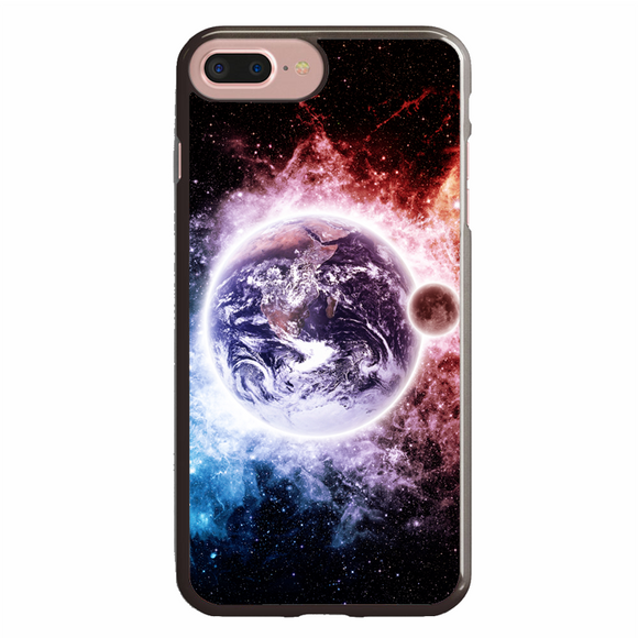 Earth And Moon Wallpaper Iphone 7 Plus Case Republicase