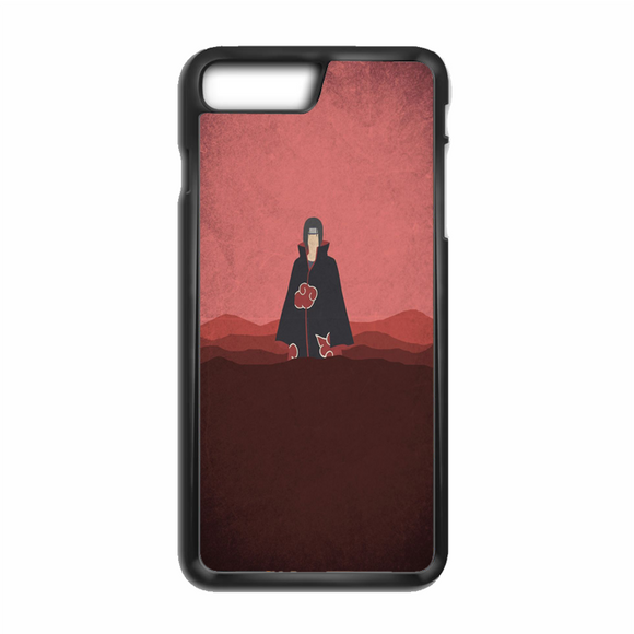 Itachi Uchiha Minimalist Wallpaper iPhone 8 Plus Case | Republicase