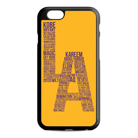 Los Angeles Lakers Typography