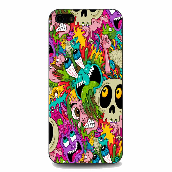 Puke Pattern iPhone 5/5S/SE Case | Republicase
