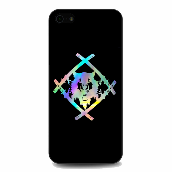 Xavier Wulf Logo Purple iPhone 5/5S/SE Case | Republicase