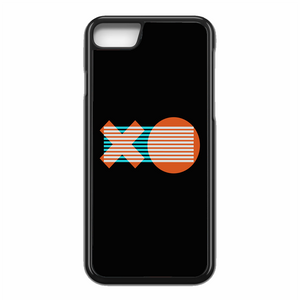 XO Logo Minimal Dark Illustration Art iPhone 7 Case | Republicase