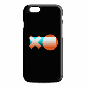 XO Logo Minimal Dark Illustration Art iPhone 6 / 6S Case | Republicase