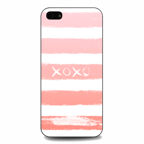 XOXO Pink iPhone 5/5S/SE Case | Republicase