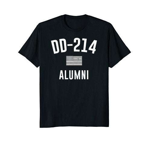 Military DD-214 Shirt Armed Forces DD214 Tee