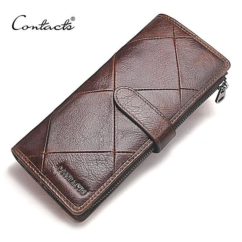 Fashion Men Wallet Genuine Leather For Male Luxury Brand Purses