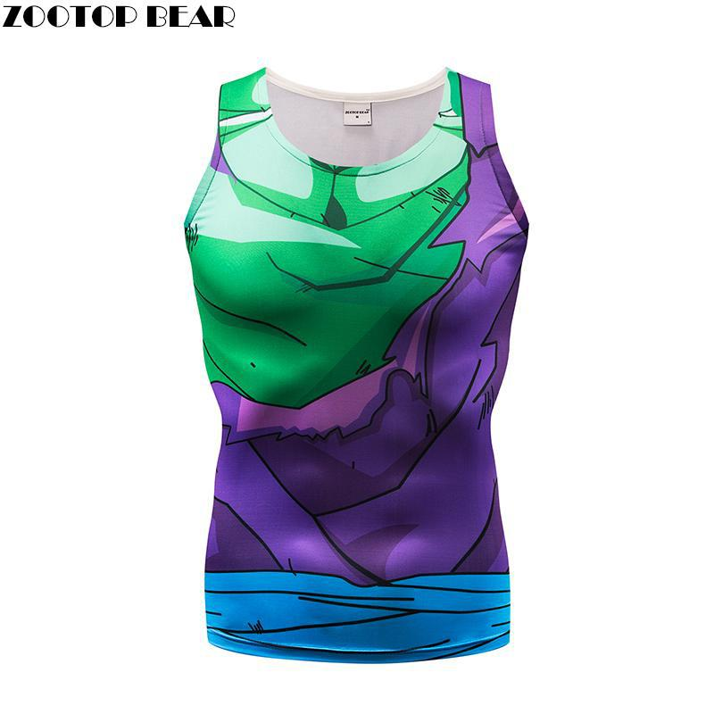 Women Tank Tops Men Vest Female Dragon Ball singlet Anime Tops&Tees