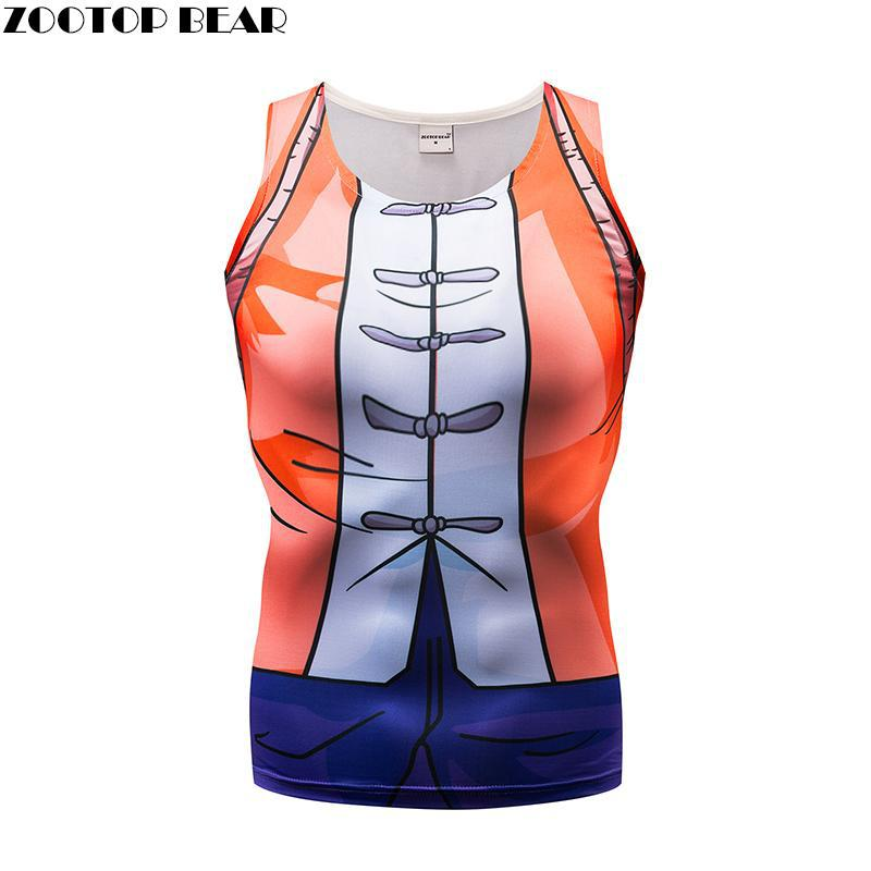 Orange Tank Tops Men Women Vest Female singlet Casual Tops&Tees