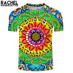 Samsara Mandala Rectangle Print By Rachel RosenkoetterArt 3DPrint shirt