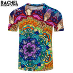 Microcosm Mandala By Rachel Rosenkoetter Art 3DPrint T shirt Men