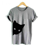 Curious Cat T-Shirt