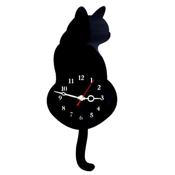 Tick Tock Cat Clock