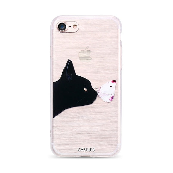 Butterfly Kisses iPhone Case