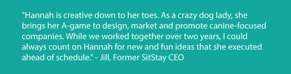 Jill Liliedahl SitStay CEO testimony for Design Pawsibilitites
