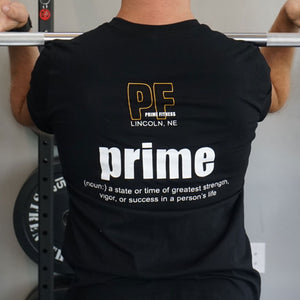 Outline Prime Fitness Tee - Paws & Prints Studio