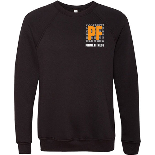 Prime Fitness Logo Crew Neck Sweater - Paws & Prints Studio