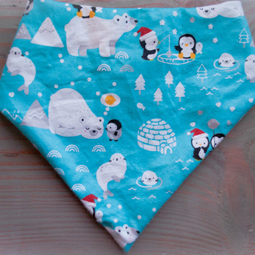 Arctic Fun Dog Bandana - Paws & Prints Studio