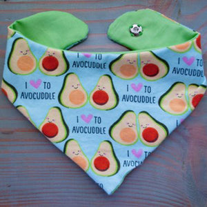 Avocuddle Dog Bandana - Paws & Prints Studio