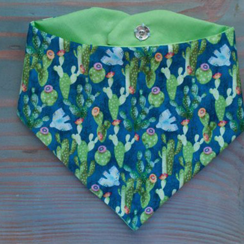 Cactus Dog Bandana - Paws & Prints Studio