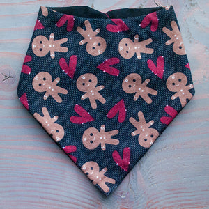 Gingerbread Dog Bandana - Paws & Prints Studio