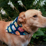 Happy Camper Dog Bandana - Paws & Prints Studio