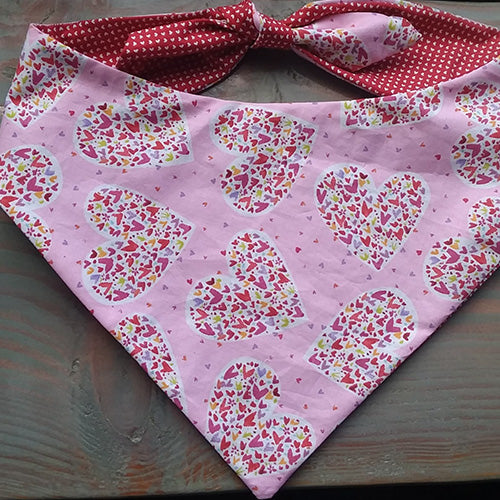 Puppy Love Dog Bandana - Paws & Prints Studio