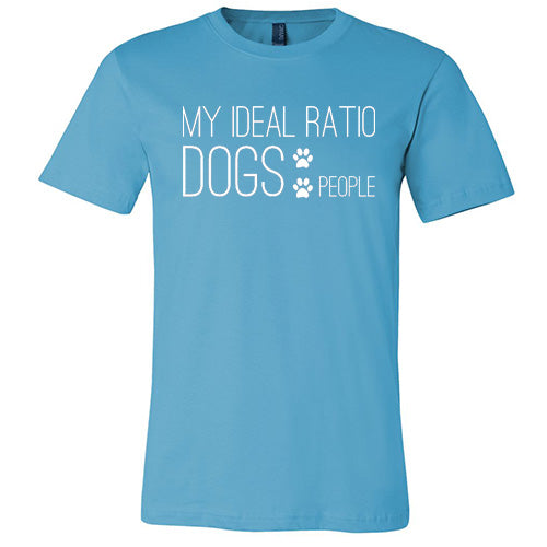 My Ideal Ratio Unisex Short Sleeve Jersey Tee - Paws & Prints Studio