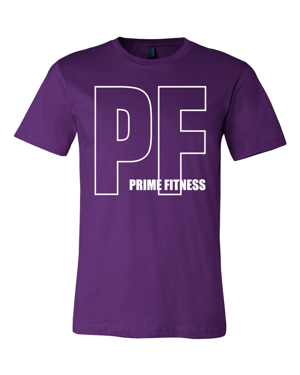 Outline Prime Fitness Colored Tee - Paws & Prints Studio