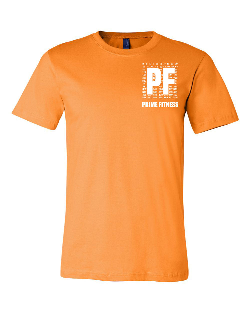 Prime Fitness Colored Logo Tee - Paws & Prints Studio
