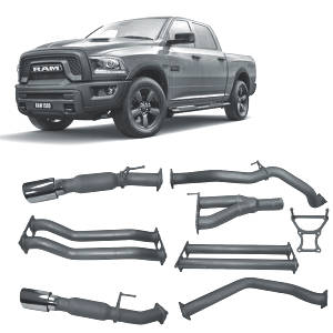 Redback Extreme Duty Exhaust to suit RAM 1500 5.7L V8 (12/2018 - on)