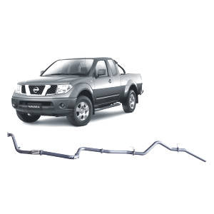 Redback Extreme Duty Exhaust to suit Nissan Navara D40 2.5L (01/2007 - 2015)