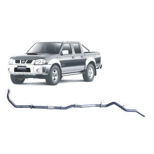 Redback Extreme Duty Exhaust to suit Nissan Navara D22 2.5L (01/2007 - 10/2015)